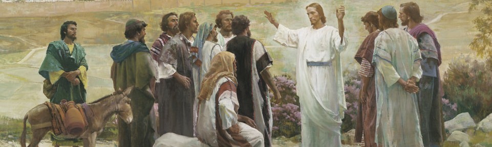 """Go Ye Therefore, and Teach All Nations"" by Harry Anderson"
