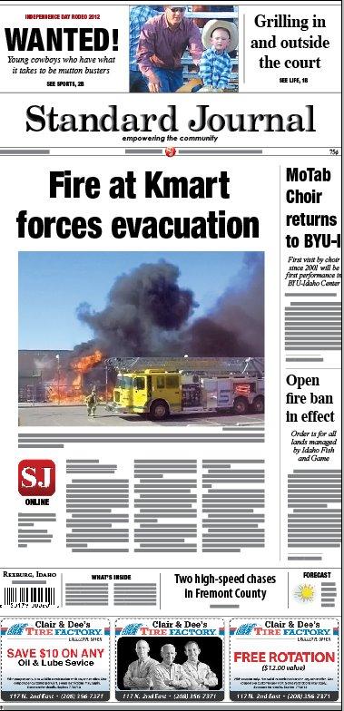 kmart fire