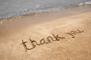 Thanks-in-sand